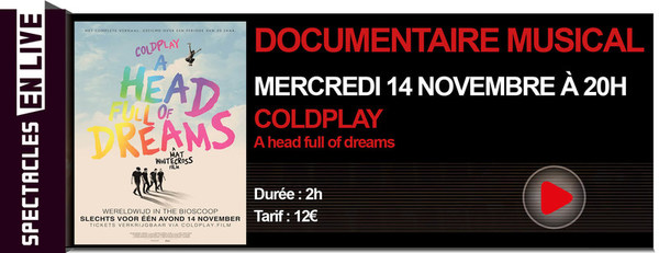 COLDPLAY - DOCUMENTAIRE INÉDIT