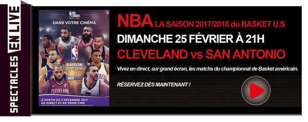 d0db32052ffee NBA / SAISON 2017/2018 - MATCH EN DIRECT